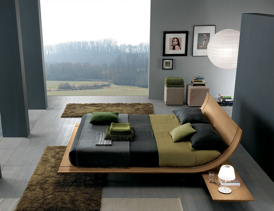 Aqua bed by Presotto Italia is a modern classic Elevate Your Bedroom Style With These Posh Contemporary Beds