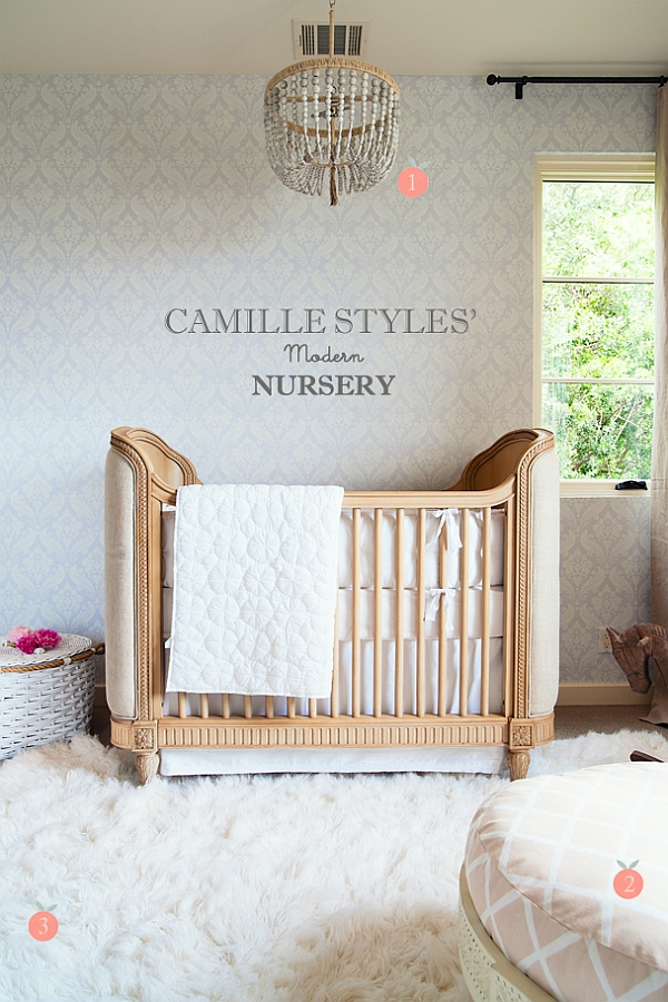 Beautiful baby room with inviting warmth