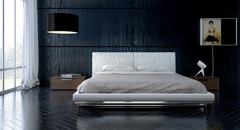 Beautiful bedroom for those who love minimalism
