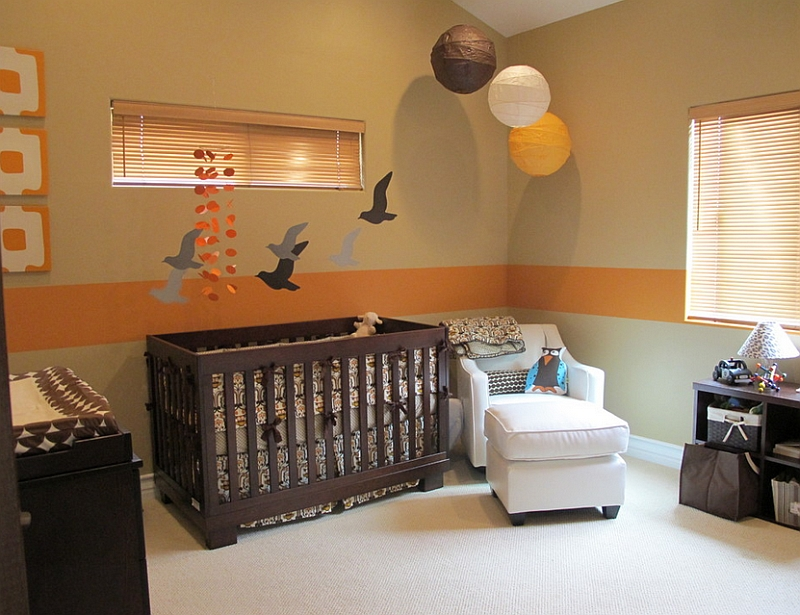 Birds inspired home decorations prints wallpaper and - Kids room color combination ...