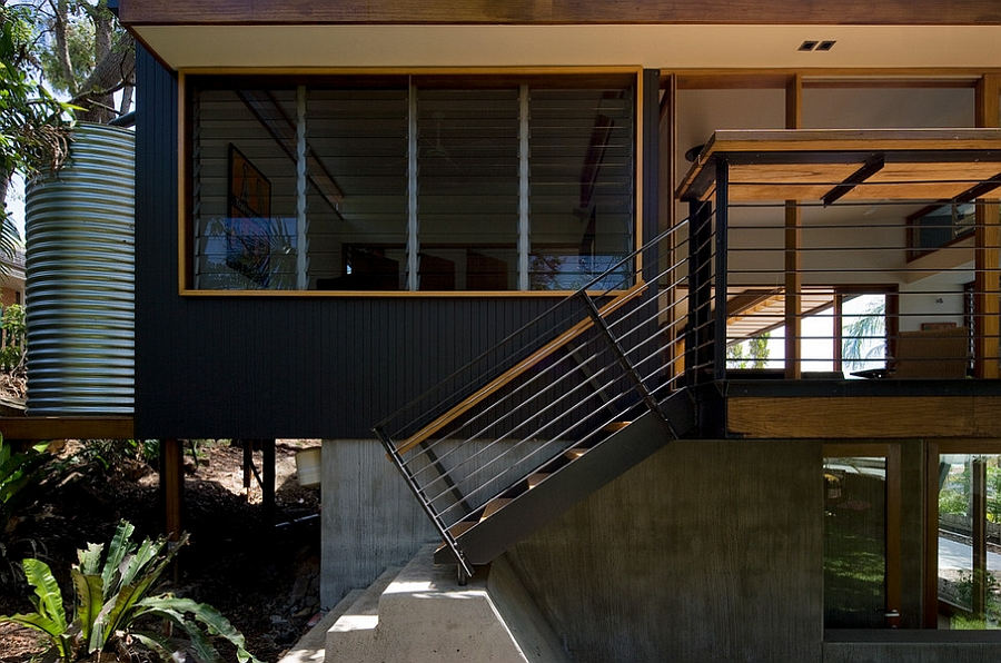 Beautiful entryway of the Sydney House
