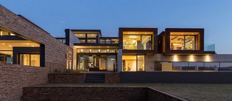 Beautiful facade of House Boz
