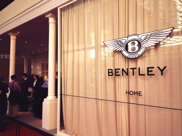 Bentley Home Decor - Live the way you drive - iSaloni 2014