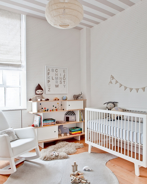 Bright and Beautiful Nursery Idea