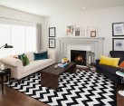 Chevron Pattern Ideas For Living Room