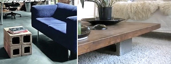 Cinder block coffee table ideas 17 DIY Projects Created With Cinder Blocks