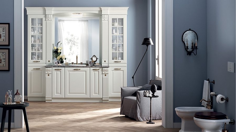 Dreamy Bathroom Brings Back Classical Design With Trendy