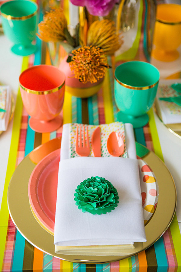 Colorful decor from the Oh Joy! for Target Collection