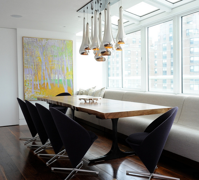 Cone chairs look both sophisticated and trendy