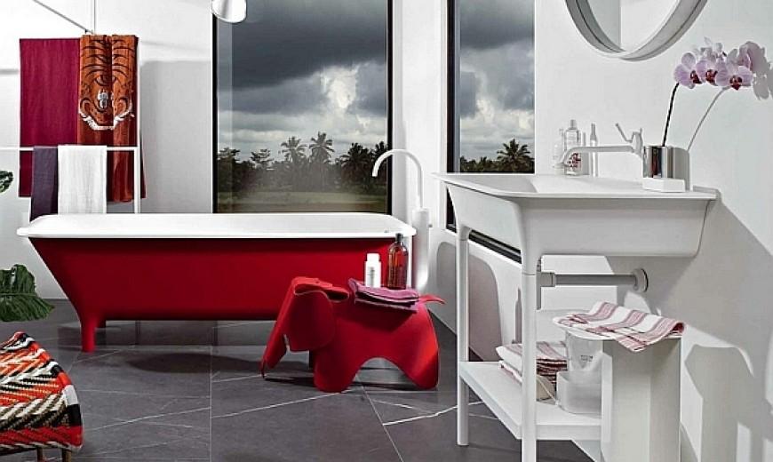 Beyond White: Colorful Bathtub Ideas For A Trendy Bathroom