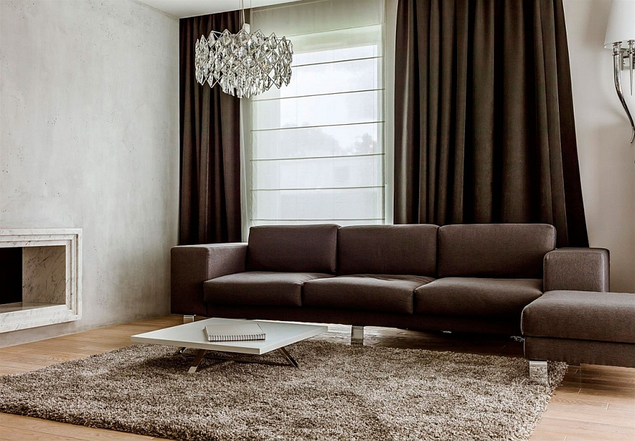 Custom designed decor for the apartment by Hola Design
