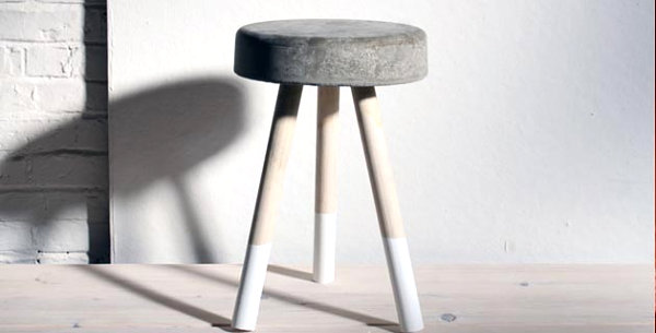 DIY modern concrete stool Add A Touch Of Comfort And Style To Your Interior With A DIY Stool