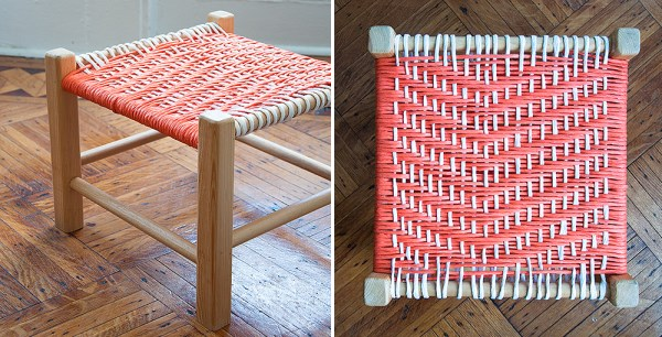 View in gallery DIY woven footstool & Stylish DIY Stools: Projects Ideas and Inspiration islam-shia.org