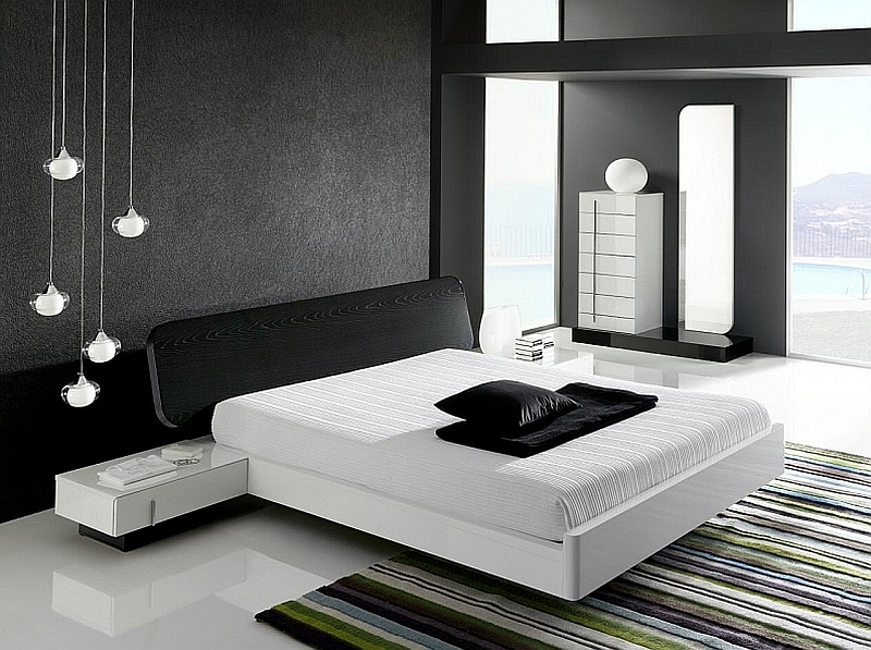 50 minimalist bedroom ideas that blend aesthetics with practicality - Black White Bedroom Decorating Ideas