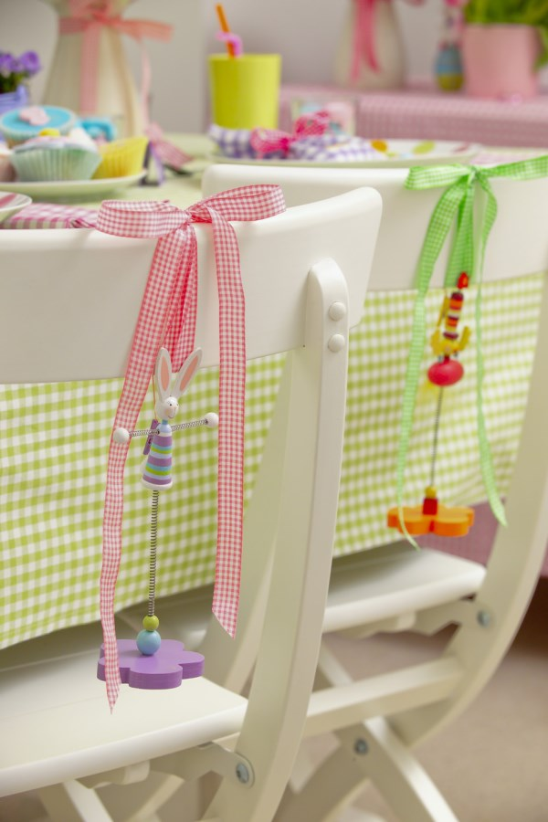 Easter chair decorations