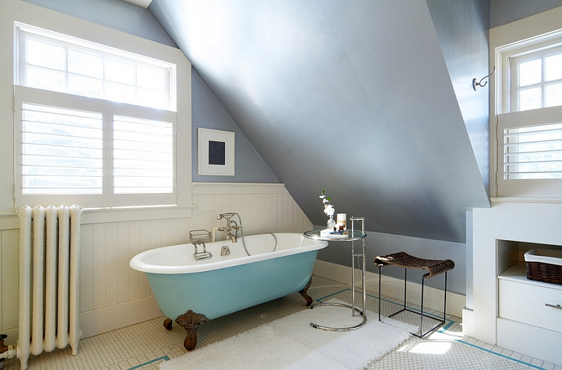 Colorful Bathtub Ideas, Bathroom Decor, Pictures