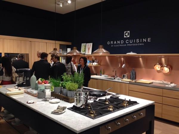 Electrolux professional kitchens - iSaloni 2014 - Decoist