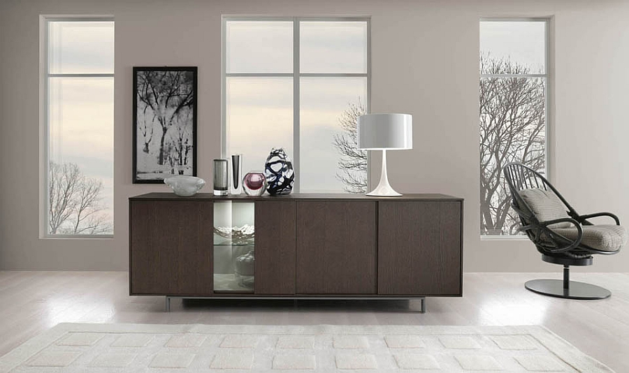 Sideboard Designs Served with Modern Flair : Elegant sideboard design idea from www.decoist.com size 900 x 534 jpeg 269kB
