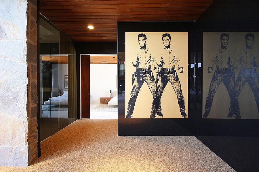 Elvis framed poster for your interior
