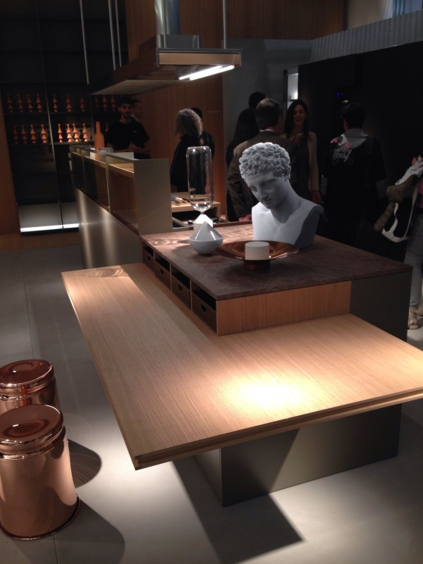 ErnestoMeda Kitchen Furniture - iSaloni 2014