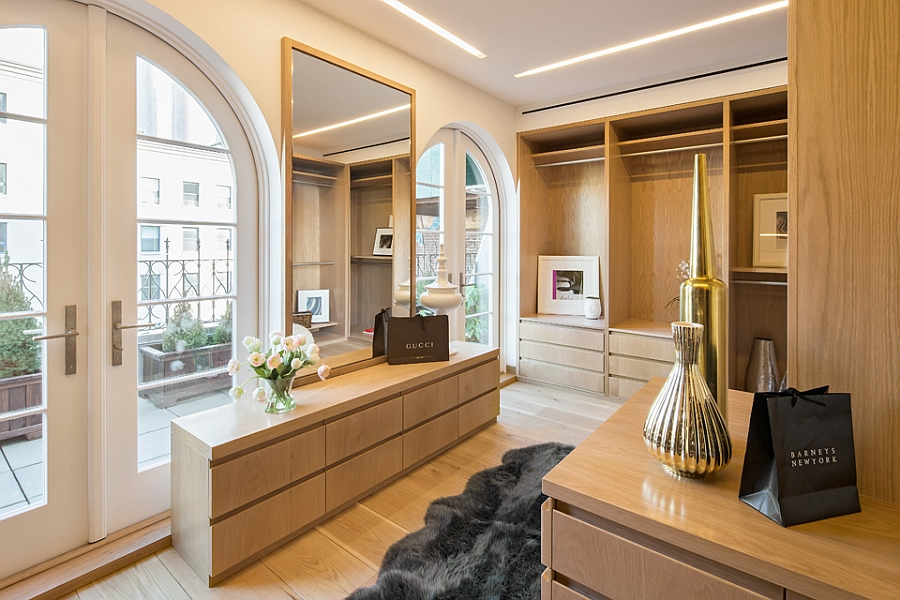 Exclusive interiors of the Tribeca Penthouse