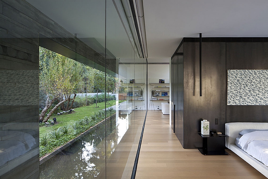 Expansive use of glass at the Float House