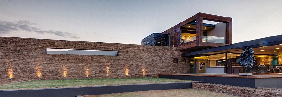 Exterior of House Boz in South Africa