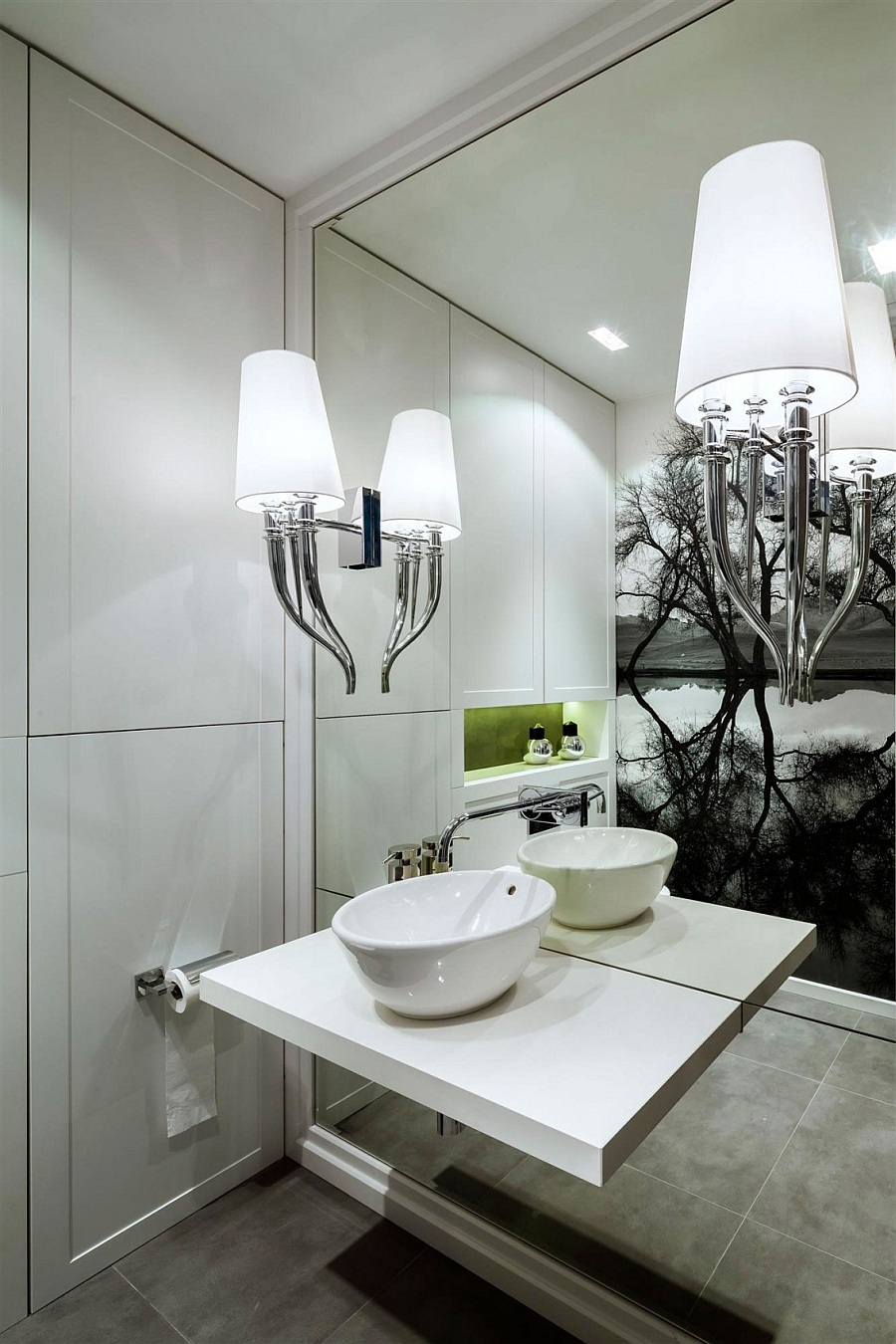 Fabulous sink idea for the contemporary bathroom