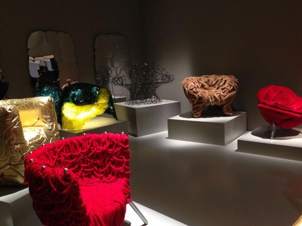 Fancy chair designs (EDRA) - iSaloni 2014