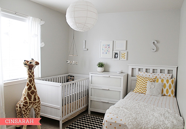 Gender Neutral Nursery in White Gender Neutral Nurseries Deliver A Bundle of Joy!