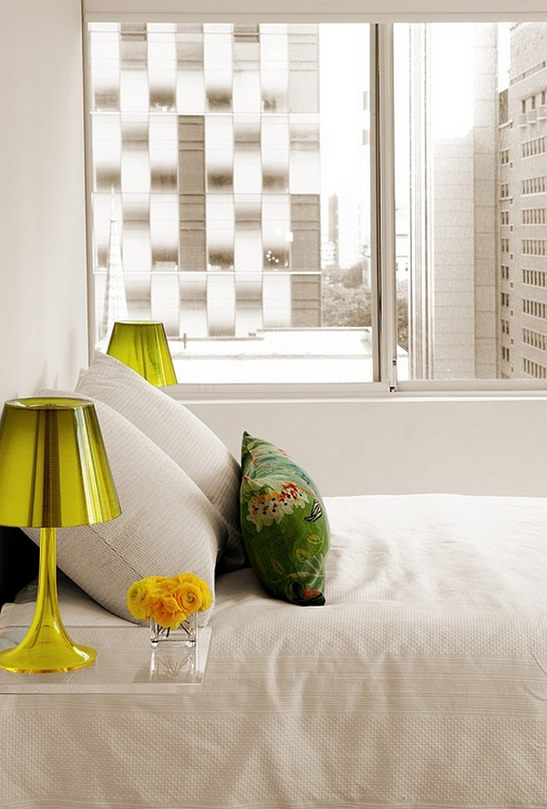 Gorgeous Flos Miss K table lamp was designed by Phillipe Starck for Flos