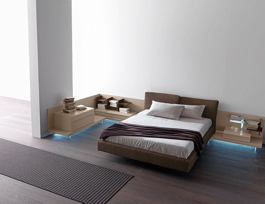 Gorgeous Reflex Bed with reclining headboard feature