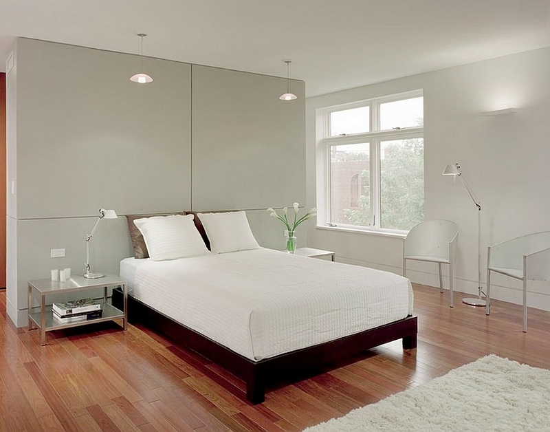 50 minimalist bedroom ideas that blend aesthetics with Modern minimalist master bedroom