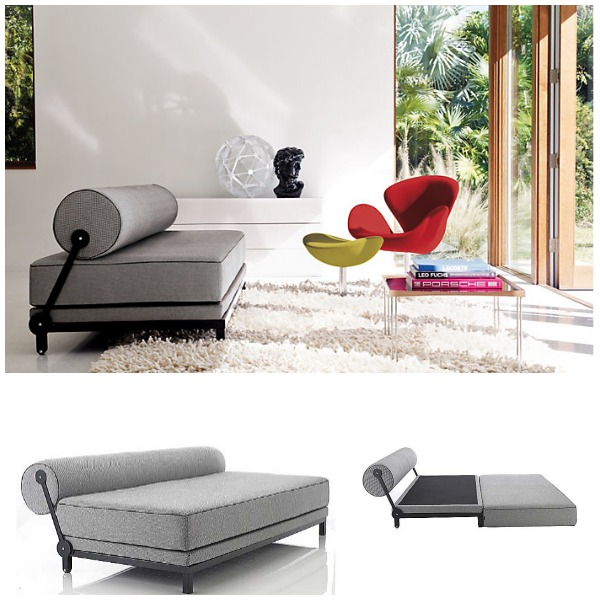 View in gallery Grey sleeper sofa 2 - Small And Stylish Sleeper Sofas