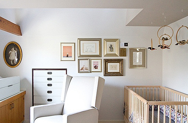 Idea for a handcrafted nursery