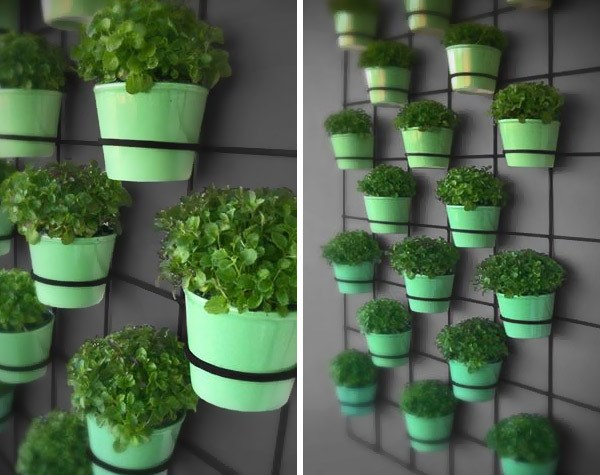 10 diy wall art projects for the outdoors - Giardino verticale ikea ...