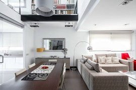 Interior of House V02 in Valencia, Spain