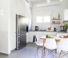 Kitchen of the Renovated Tel Aviv Apartment