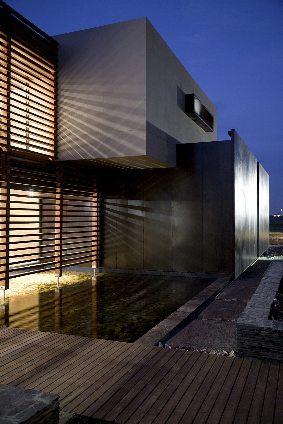 House Serengeti Sharp Angles Contemporary Architecture