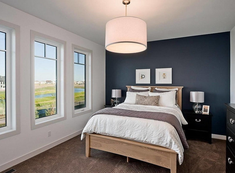bedroom hanging lights oversized pendants shining a spotlight on the design 10484