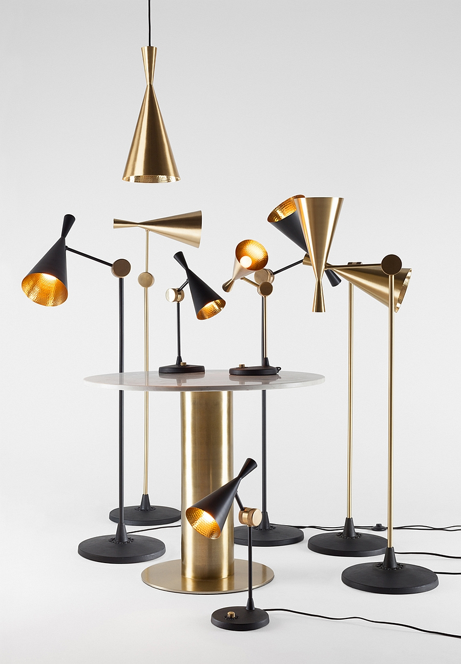Latest additions to the Beat lighting family from Tom Dixon