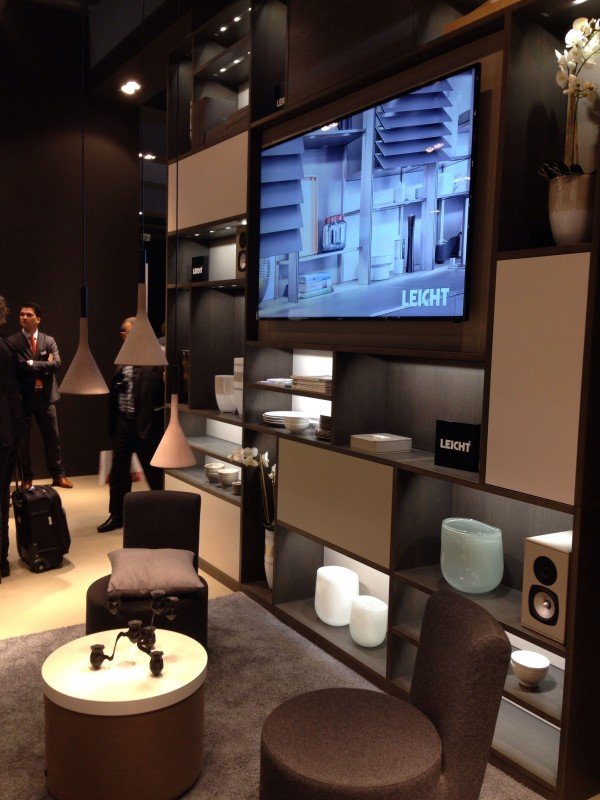 Leicht furniture - iSaloni 2014