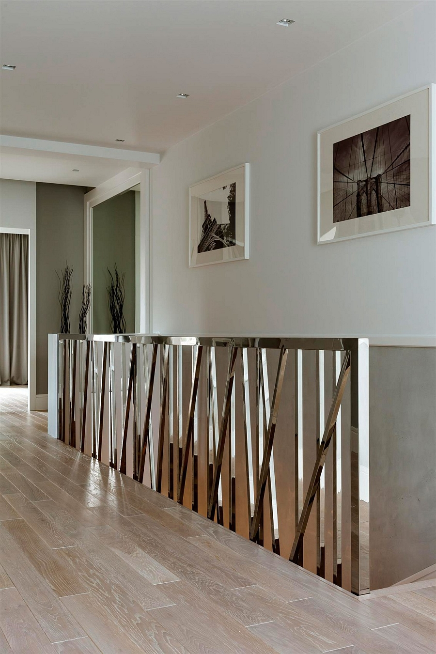 Let the staircase conect multiple levels with architectural synergy