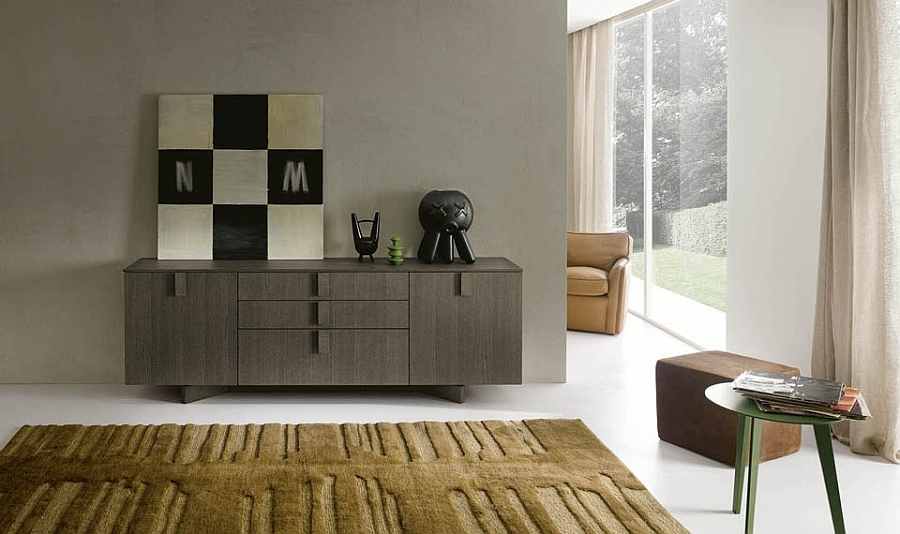 Loft Sideboard in lovely wooden finish Sideboard Designs Served with Modern Flair