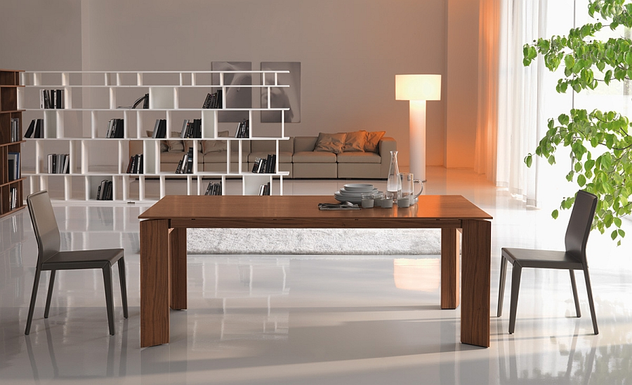 Lovely Brera in walnut 10 Dining Tables That Will Attract Your Neighbors Attention!