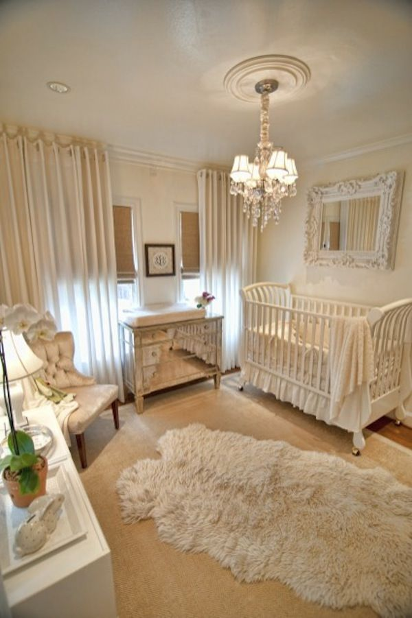 Lovely baby nursery design idea