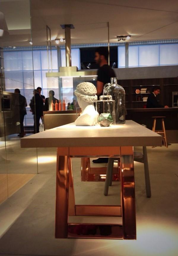 Luxury kitchen table - Ernestomeda - iSaloni 2014