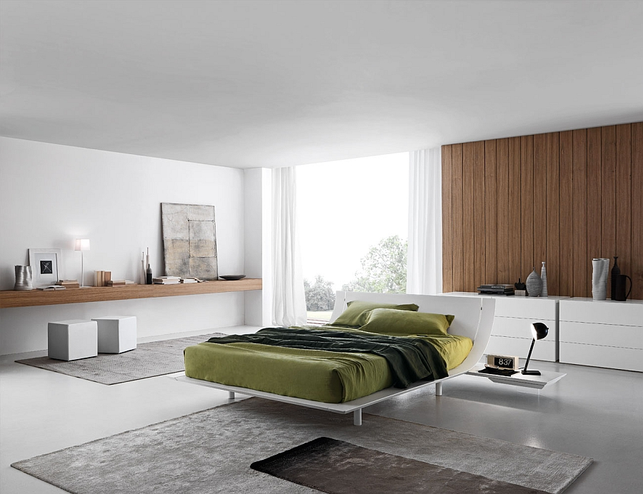 Make your bed the focal point of the room with Aqua
