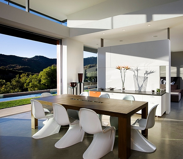 Minimalist dining room ideas designs photos inspirations for Living room minimalist modern