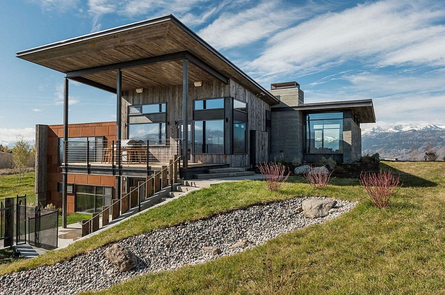 Modern holiday home in Jackson Hole, Wyoming